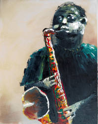 Jazz man 7 by jvgauthier