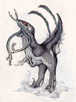 Male Falx by TheSeaLemon