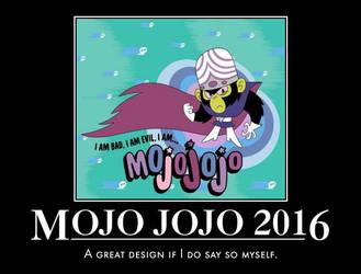 Mojo Jojo 2016 by UltraJohn567