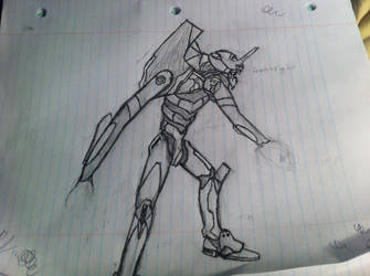 Evangelion Unit 01 WIP by Ppeitso