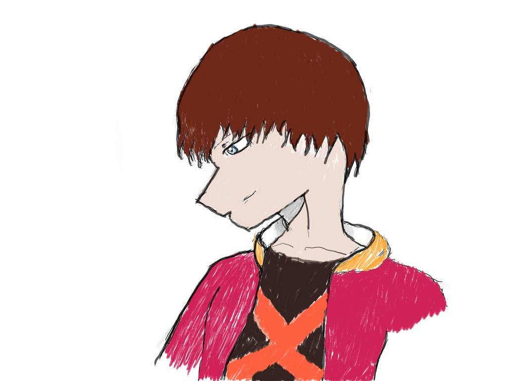 kingdom hearts Birth by sleep(Shinji design)facial by UKNE-12mark2