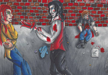 Happy Halloween - Saved by a vampire by Chelsea-C
