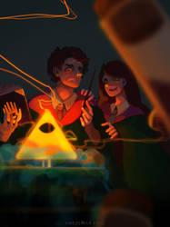 Gravity Falls - HogwartsAU by CHESSMILY