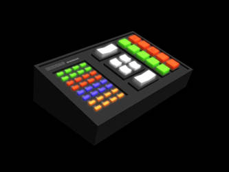 3D Kitt lower console by davemetlesits