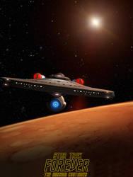 Star Trek Forever poster by davemetlesits