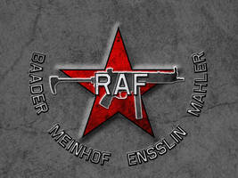 RAF - Rote Armee Fraktion by davemetlesits