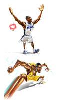 NBA stars6 by A-BB