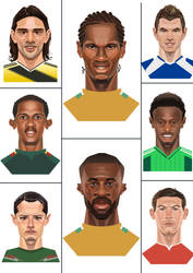 2014 FIFA World Cup players1 by A-BB