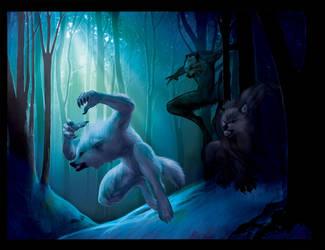 Werewolf Barf by Novawuff
