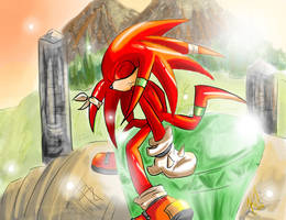 guardian knuckles by EvilQueenie