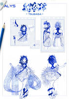 CONCEPT ART || ALYS - Hajime ni, Tsubasa by T-a-t-s-u-k-i
