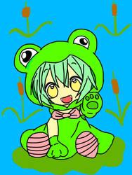 Chibi Froggy  by JH22783