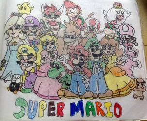 Super Mario in color by JH22783