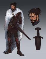 COMM: Warrior by CassDoubleME