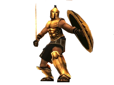My first PNG Photo- Spartan Total Warrior by Jimpapadim