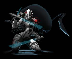 2879 Predator Girl 3 by Spoon02