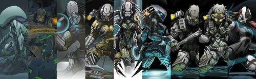 Aliens VS Predator X by Spoon02