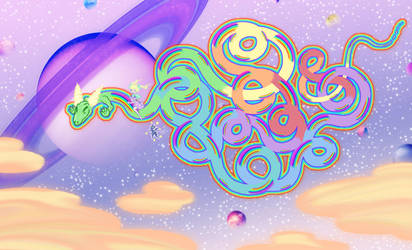 Flying on Imaginary Dragon by SumiMai
