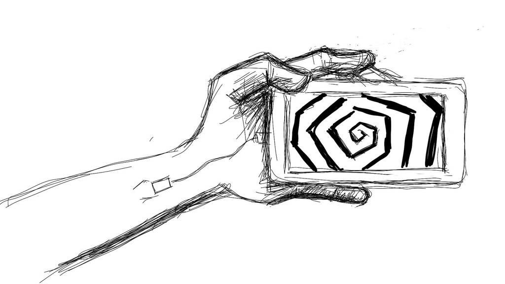 Cross hatching Sketch #3 by CrazyJ454