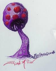Illustration - Digital - Mushroom on a phone #1 by CrazyJ454