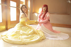Belle and Ariel by Athora-x