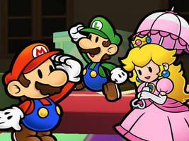 Paper Mario by goddessmoonsoul