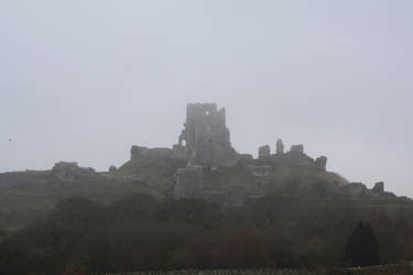 040 - Corfe Castle by M-Knowler