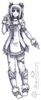 Sseria (Concept Sketch) by Seminon