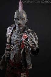 Punk Zombie by CinemaMakeupSchool