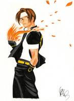 Draw: Kyo Kusanagi by Meufer