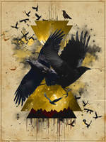 Crows by Maniakuk
