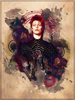 David Bowie by Maniakuk
