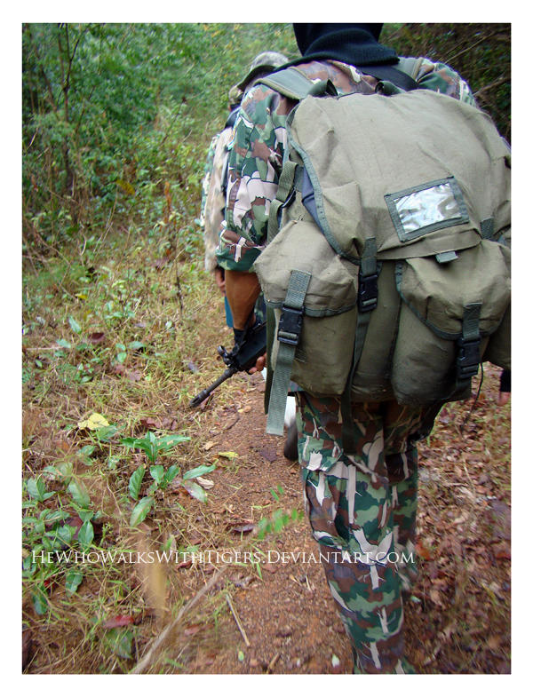 Soldier in a War for Wildlife by HeWhoWalksWithTigers
