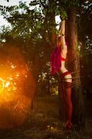 Shibari series: Summer Forest by LadyEndora