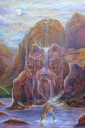 Shang gri la / Tiger Falls by Wildatart24