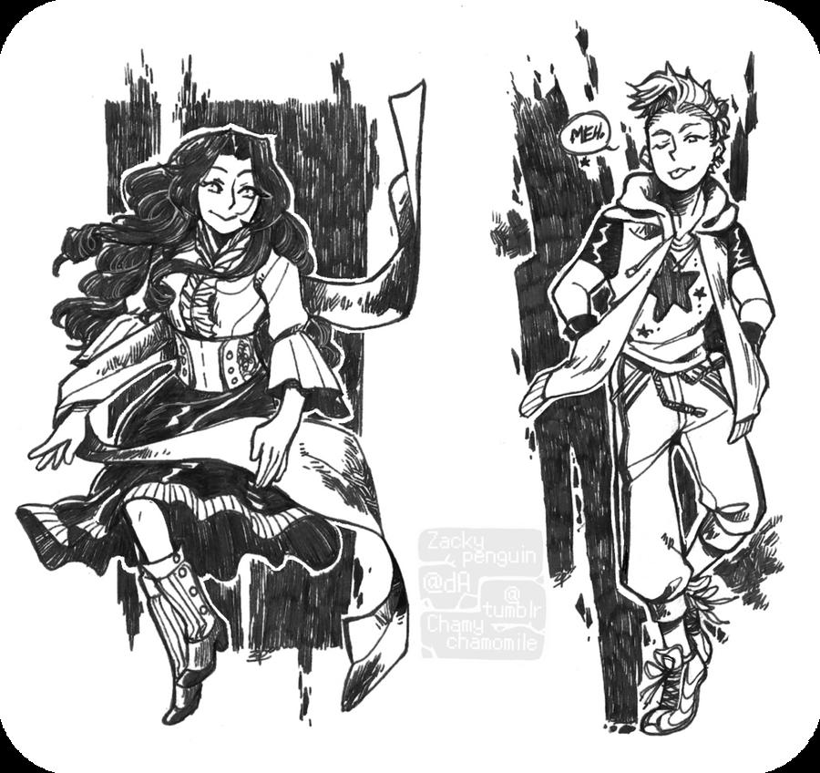 Co-duo by Zackypenguin