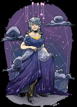 Nightdress by Zackypenguin