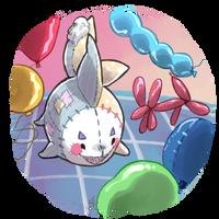 Balloon pile! by Zackypenguin