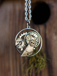 Circle Of Time Necklace by BrightStarGifts