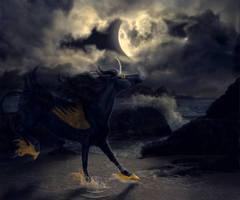 A Dance Under the Moon by Raiiiny
