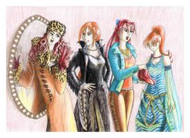 Wardrobe party at Miza by Akaszik