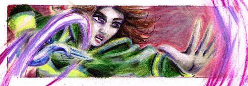 Rysta bookmark by Akaszik
