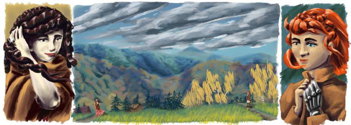 A nod in a wilderness by Akaszik