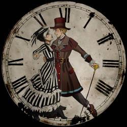 dancing on the clock by Fukari