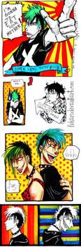 like a comics shots by Fukari