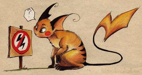not for raichu by Fukari