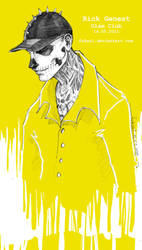 ZombieBoy. yellow. by Fukari