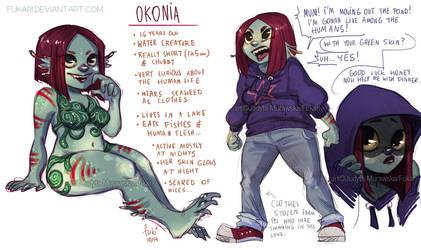 one day auction - Okonia - CLOSED by Fukari