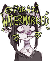 watermarks and art thieves by Fukari