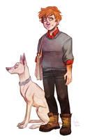 Chelle - genderbend by Fukari